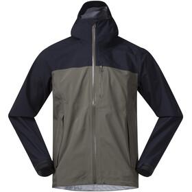 Bergans M's Oslo 3L LT Jacket Green Mud/Dark Navy